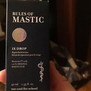 Rules of Mastic IX Drop repair facial serum